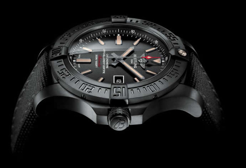 New Breitling Avenger Blackbird - Watch for Proffesionals