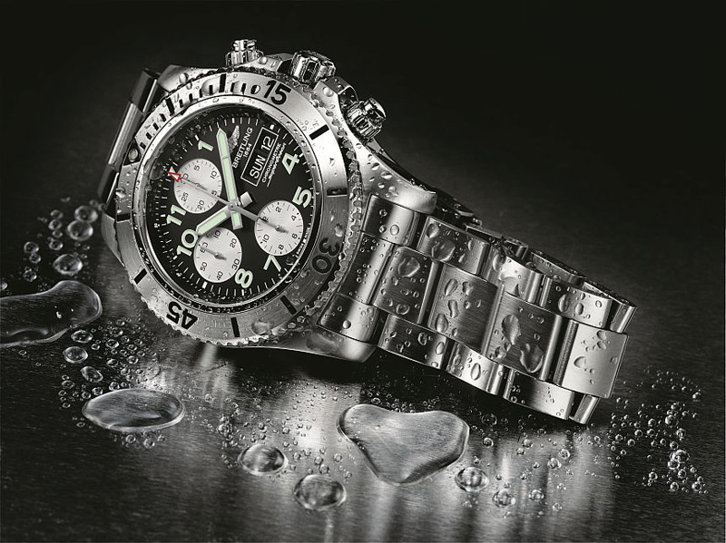 Breitling's New Dive-Themed Superocean Chronograph Steelfish