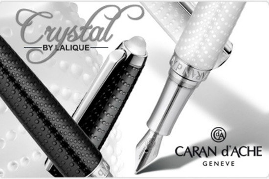 Lalique And Caran d'ache Crystal Limited Edition