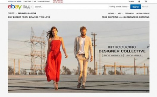 eBay's New Collection of Online Shops  - Designer Collective