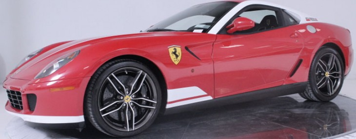 Ferrari 599 GTB 60F1 Alonso Final Edition on Sale for $389,900