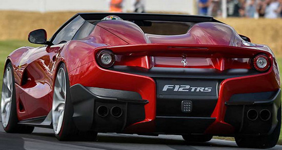$4.2 Million Ferrari F12 TRS At Festival Of Speed At Goodwood