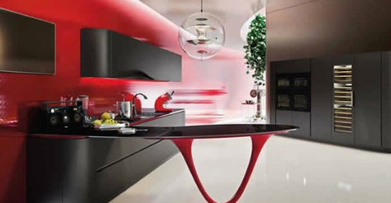Unique And Exclusive Ferrari Kitchen