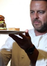 """Flying Burger"" for British Airways' First Class Passengers"