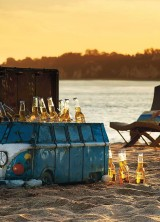 Frontgate's Vintage Van Beach Cooler for Free-wheeling Fun