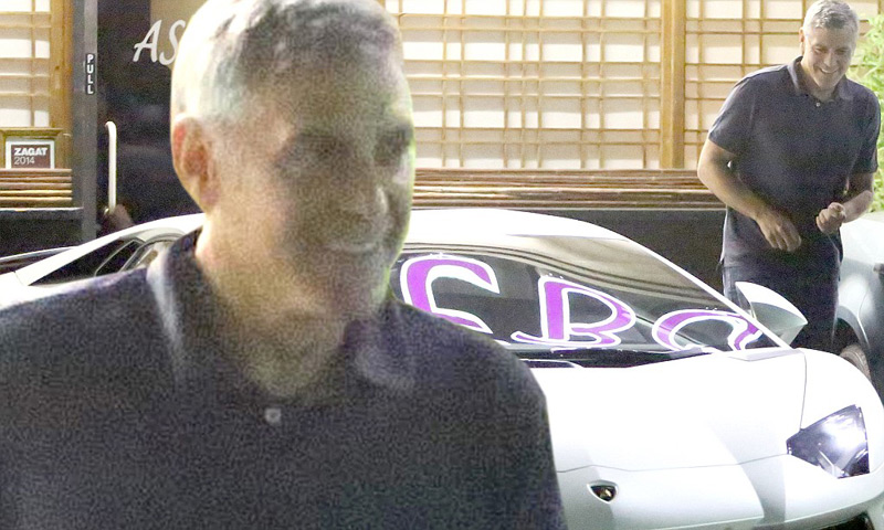 George Clooney Has New Wife And New Lamborghini Aventador