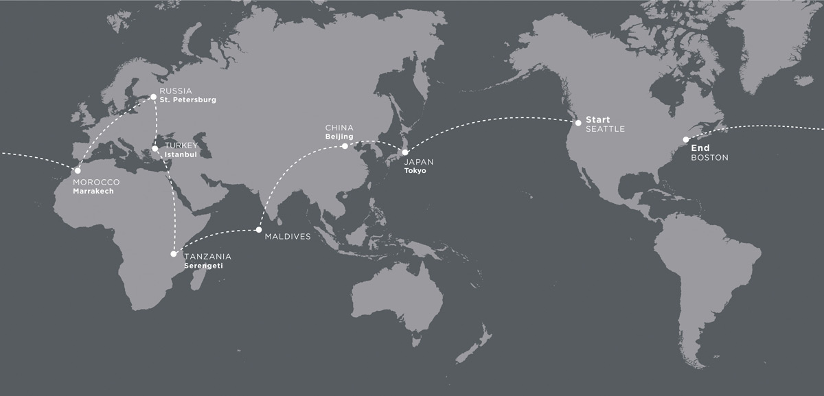 TCS Expeditions Launches The Global Icon Private Jet Tour