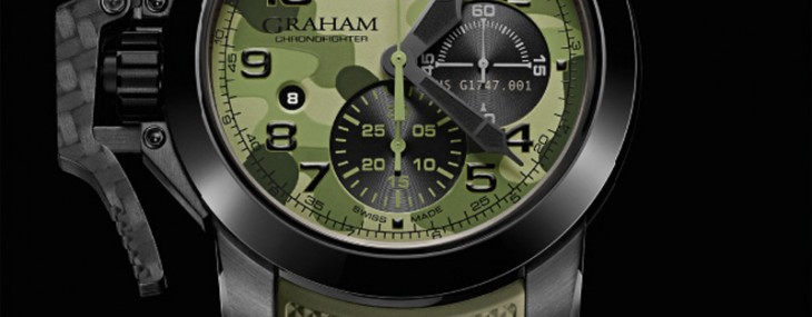 Graham introduces the Chronofighter Oversize Black Arrow
