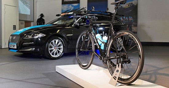 Jaguar Partners With Pinarello For Dogma F8 Bicycle