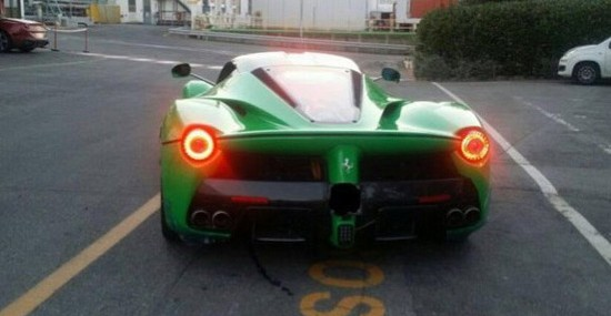 Jamiroquai Has New Toy - LaFerrari Kermit