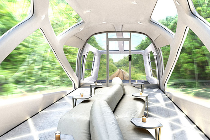 Japanese New Luxury Sleeper Train is Penthouse on Rails