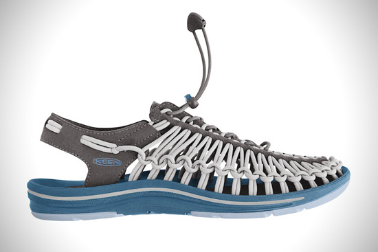New KEEN Uneek Sandals Made with Two Cords