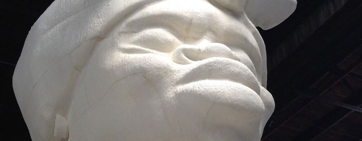 Sculptors will use whatever material is available to create their art, be it stone, marble or even sand. But few have ever chosen to work with sugar.
