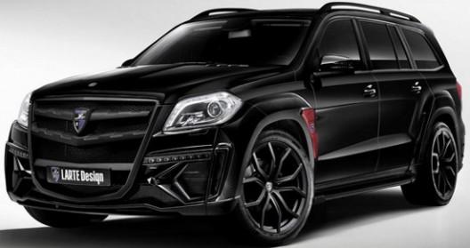 Larte Design Mercedes Gl Black Crystal Extravaganzi