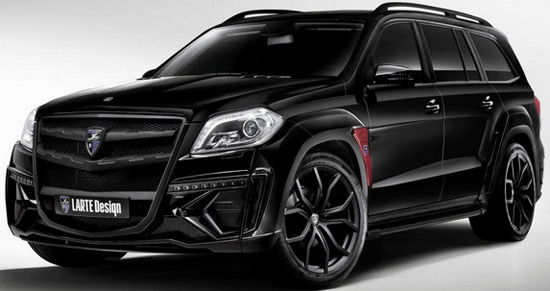Larte Design, has unveiled a modified Mercedes GL
