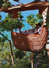Dine on the Top of the Tree at the Soneva Kiri Resort