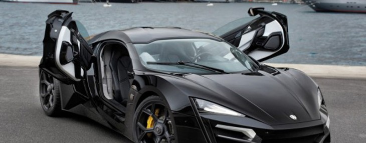 $3.4Million Lykan Hypersport Supercar
