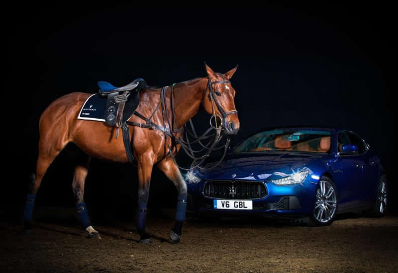 Luxury Polo Saddle by Maserati And La Martina