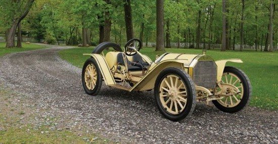 More Than A Century Old Mercer 35R Racebout Car At Auction
