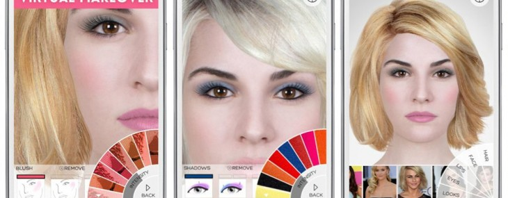 ModiFace's 3D Augmented Reality Makeup and Anti-Aging Beauty Mirror