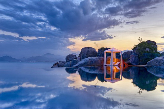 Beautiful Ninh Van Bay Resort In Vietnam