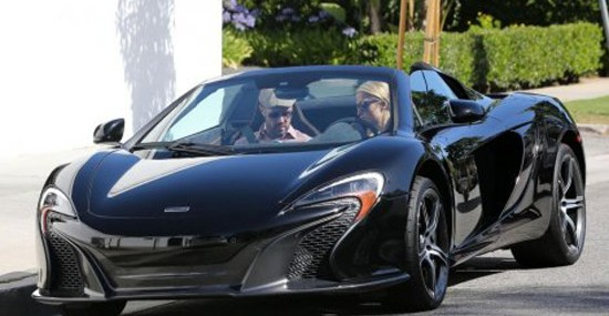Paris Hilton Treated Herself With A New McLaren 650S Coupe Sport