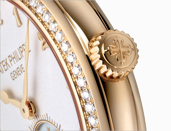 Patek Philippe Calatrava Moon Phase Ladies Watch