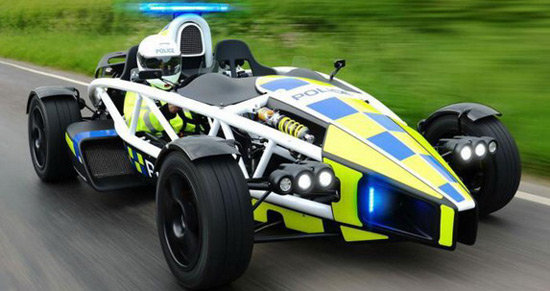 Ariel Atom Among Police Forces In Britain