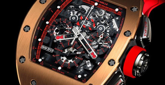 "RICHARD MILLE INTRODUCES THE RM 011 AUTOMATIC FLYBACK CHRONOGRAPH ""RED DEMON"""