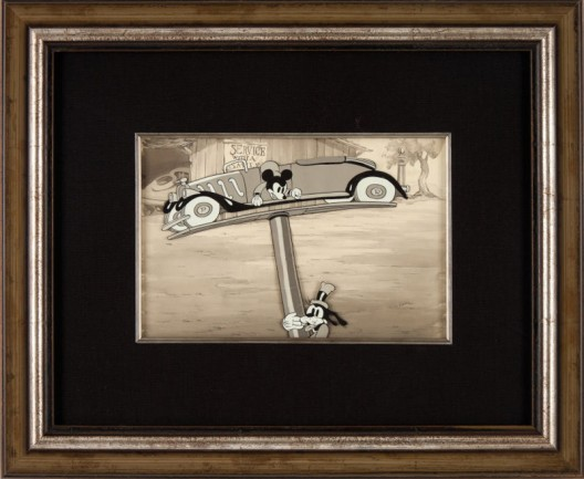 Rare Mickey Mouse Animation Cel And Background May Bring $60,000 At Heritage Auction