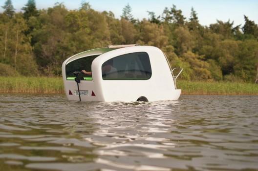 Sealander – Amphibious Camping Trailer