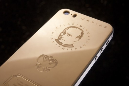 Gold-plated Vladimir Putin iPhone 5S Will Cost You $4,300