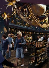 New 20-acre The Wizarding World of Harry Potter Themed Park Diagon Alley Opening On July 8