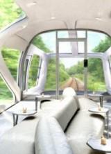 Luxury Train Like Yacht on the Railway