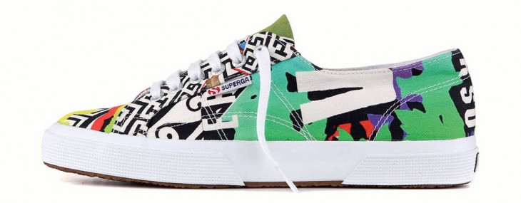 New Versace & Superga Collectable Sneaker