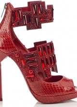 Vices – Jimmy Choo's Collection of Footwear with Gemstones