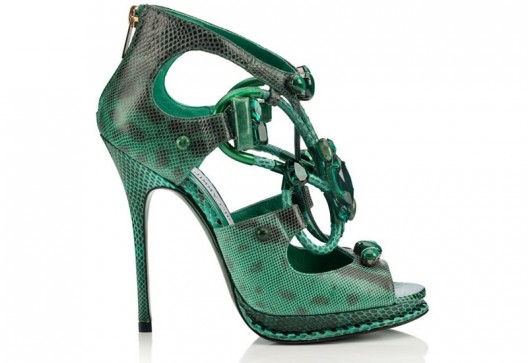 Vices - Jimmy Choo's Collection of Footwear with Gemstones