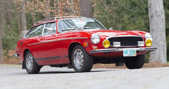 Volvo P1800ES Sold At Bonhams Auction For Record Amount