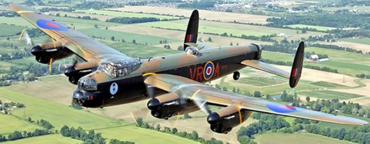 Here's your once-in-a-lifetime chance to fly with the iconic WW2 Lancaster bomber