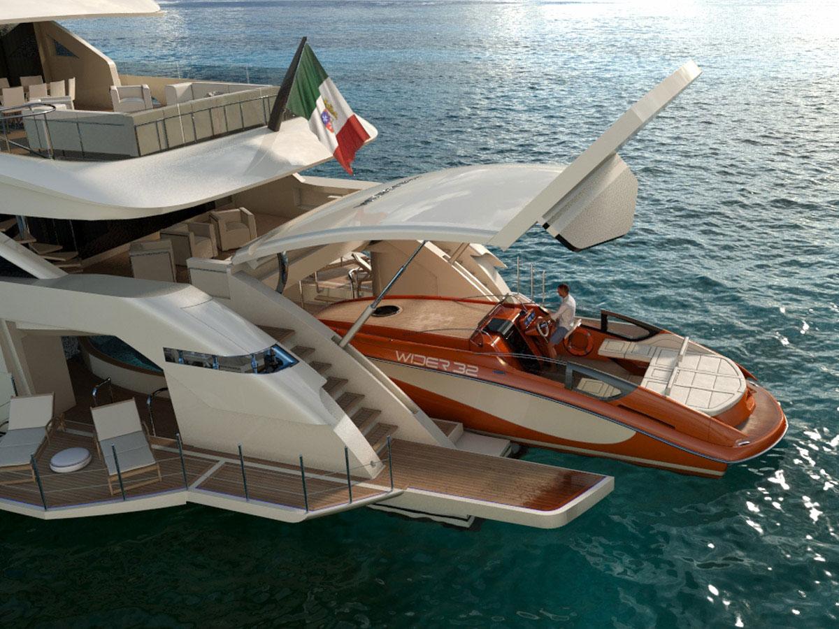 Wider 165' - New 50-meter Superyacht by Wider Yachts ...