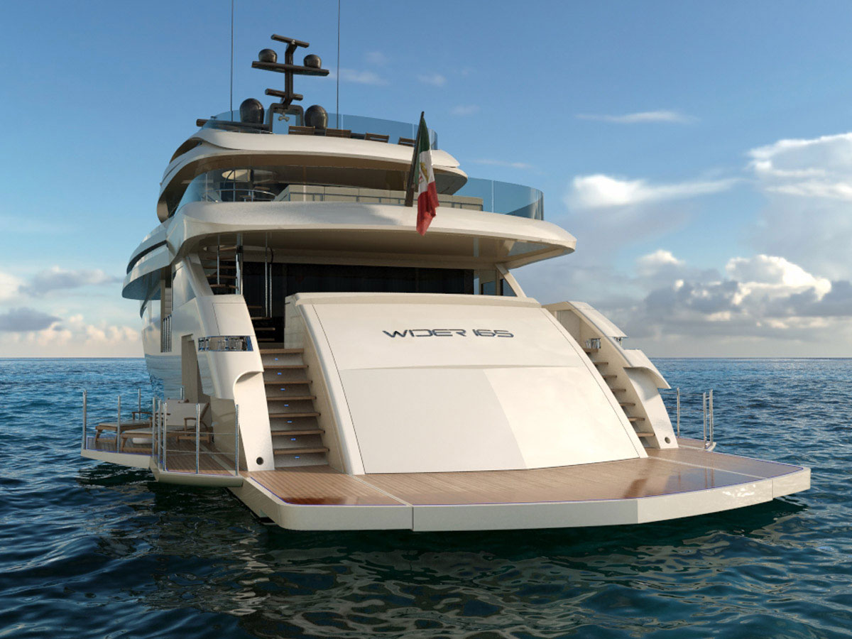 Wider 165' - New 50-meter Superyacht by Wider Yachts ...