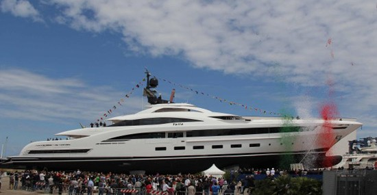 Yalla - Luxury Superyacht Launched at the Port of Ancona