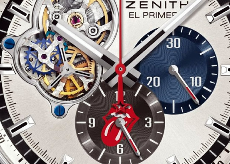 Limited Edition Zenith El Primero Honors Rolling Stones