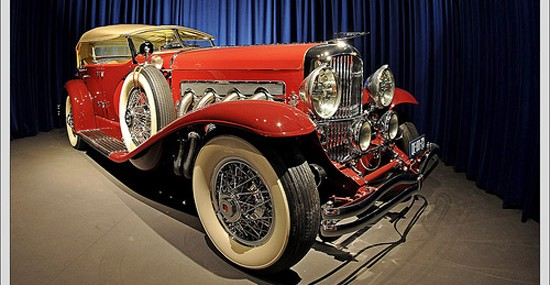 1935 Duesenberg Model SJ Dual Cowl Phaeton by LaGrande at Auctions America's Auburn Sale