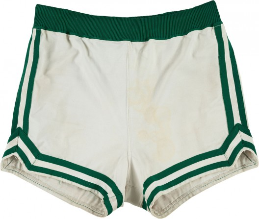 1979-80 Larry Bird Game Worn Boston Celtics Rookie Uniform