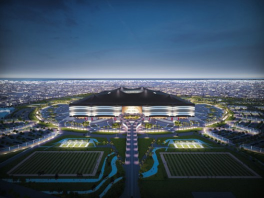 Qatar's FIFA World Cup stadium in Al Khor Modeled After Nomadic Tent