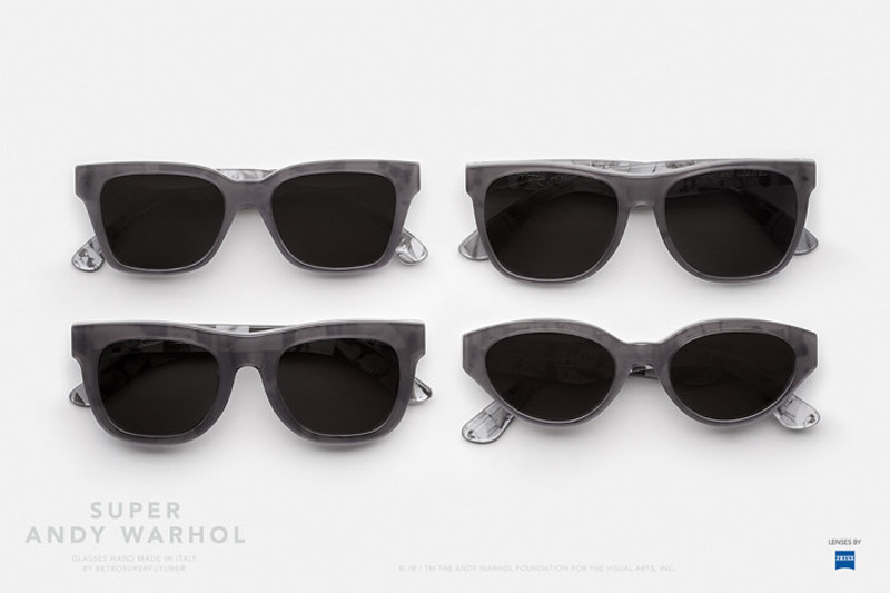 Andy Warhol X Retrosuperfuture Sunglasses, A New Capsule Collection