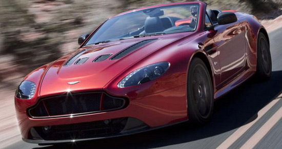 New Aston Martin V12 Vantage S Roadster