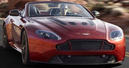 New Aston Martin V12 Vantage S Roadster