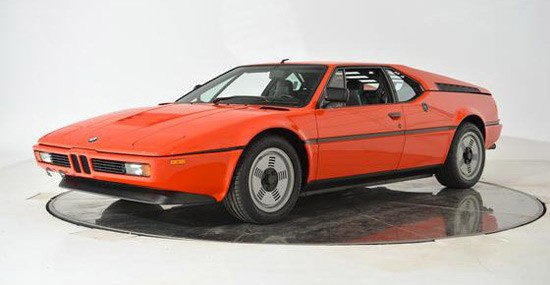 Rare BMW M1 From 1981 On Sale For Half Million Dollars